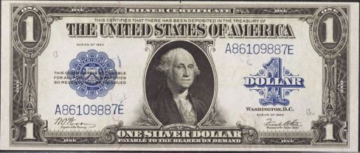 Silver 100 Dollar Bill