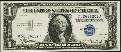 Silver Certificate Value History: Silver Versus Gold