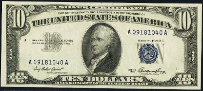 1934 silver certificate dating