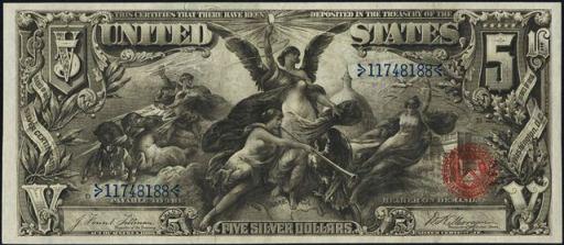 Antique Money – Silver Certificates – Values, Information