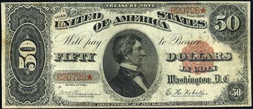 Treasury Notes | 1890 & 1891 Treasury Notes | Old Money | Antique ...