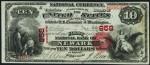 First Charter $10 Bill (1863-1882)