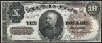 Ten Dollar Treasury Notes (1890-1891)