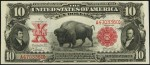 Ten Dollar Bison Note (1901 only)