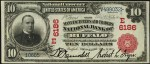 Red Seal 1902 $10 National Currency (1902-1908)