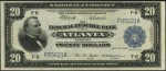 Federal Reserve Bank Note - 1915 & 1918 - Twenty Dollars