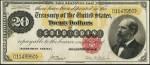 Gold Certificate - 1882 - Twenty Dollars