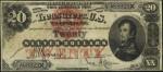 Silver Certificate - 1878 & 1880 - Twenty Dollars