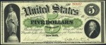Demand Note $5 Bill (1861 - 1862)