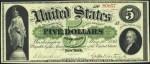 Demand Note $5 Bill (1861 - 1862)