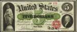 Legal Tender $5 Bill (1863 - 1864)