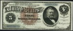 1886 & 1891 $5 Silver Certificate