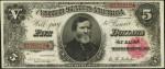1890 & 1891 $5 Treasury Note