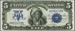 Series of 1899 $5 Silver Certificate