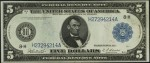 Series of 1914 $5 Federal Reserve Note (Blue Seal)