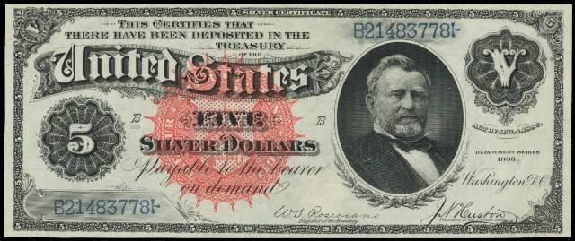 1953 Silver Certificate 5 Dollar Bill - Best Design Sertificate 2018