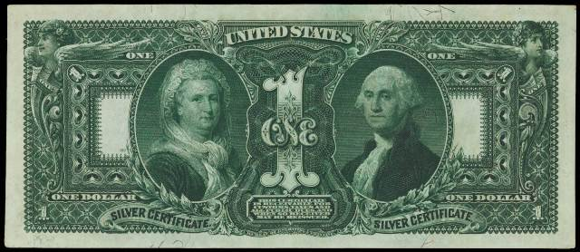 1896 $1 Silver Certificate Bill | Information, Price Guide, and ...