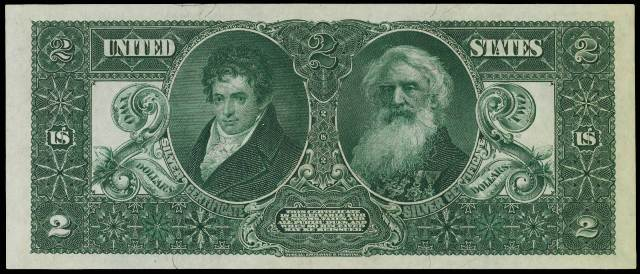 Antique Money – Value of 1896 $2 Silver Certificate