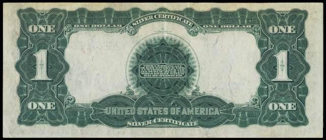 Antique Money – Value of 1899 $1 Silver Certificate Black Eagle Bill