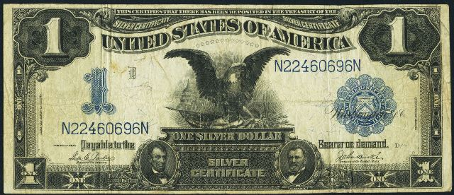 1899 $1 Silver Certificate Bill | Information, Price Guide, and ...