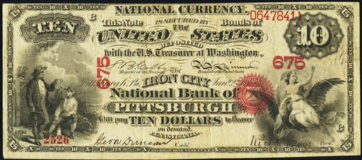 1877 1878 DEPOSIT SLIP FOR THE NATIONAL BANK OF NEW ENGLAND EAST HADDAM CT