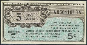 Antique Money – Military Payment Certificate Values