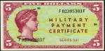 Value of Series 541 $5 Military Payment Certificate