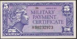 Value of Series 611 5 Cent Military Payment Certificate