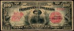 Value of 1918 Philippine Islands One Hundred Pesos Treasury Certificate