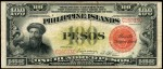 Value of 1929 Philippine Islands One Hundred Pesos Treasury Certificate