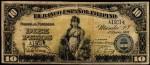 Value of 1908 Diez Pesos El Banco Espanol Filipino Diez Pesos
