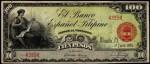 Value of 1908 Cien Pesos El Banco Espanol Filipino Cien Pesos