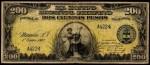 Value of 1908 Dos Cientos Pesos El Banco Espanol Filipino Dos Cientos Pesos