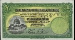 Value of Palestine 1st January 1944 One Pound