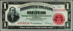 Value of 1918 Philippine Islands One Peso Treasury Certificate