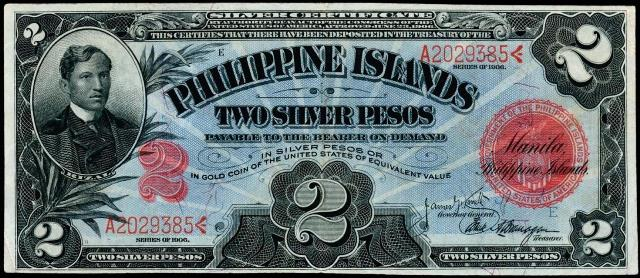 Antique Money – Value of 1906 Philippine Islands Two Silver
