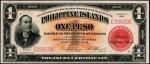 Value of 1929 Philippine Islands One Peso Treasury Certificate
