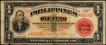 Value of 1936 Philippines One Peso Treasury Certificate