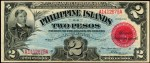 Value of 1918 Philippine Islands Two Pesos Treasury Certificate