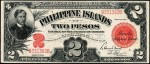 Value of 1924 Philippine Islands Two Pesos Treasury Certificate