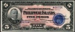 Value of 1918 Philippine Islands Five Pesos Treasury Certificate