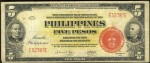 Value of 1941 Philippines Five Pesos Treasury Certificate