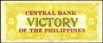 Value of Central Bank Of The Philippines Victory Five Pesos