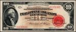 Value of 1929 Philippine Islands Ten Pesos Treasury Certificate