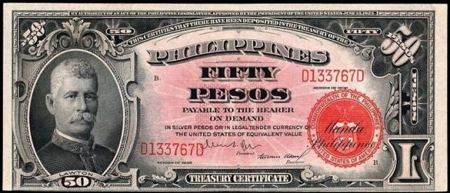 Antique Money – Value of 1936 Philippines Fifty Pesos