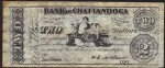 FAKE ALERT:  Bank of Chattanooga Jan 4th 1863 $2 Bill