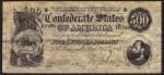 FAKE ALERT:  Confederate States Of America $500 Bill Feb 17th 1864