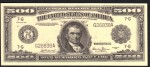 FAKE ALERT:  1918 $500 Bill Serial Number G26838A