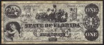 FAKE ALERT:  State of Florida $1 Bill March 1st, 1863