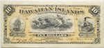 Value of 1880 $10 Hawaiian Islands Certificate of Deposit